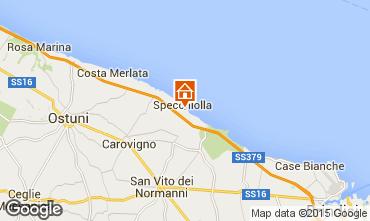 Map Ostuni Apartment 94756