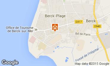 Map Berck-Plage Apartment 65406