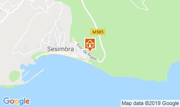 Map Sesimbra Apartment 119262