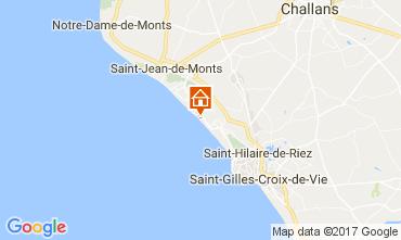 Map Saint Hilaire de Riez Apartment 110324