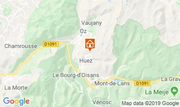 Map Alpe d'Huez Apartment 27