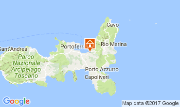 Map Portoferraio Studio apartment 109741