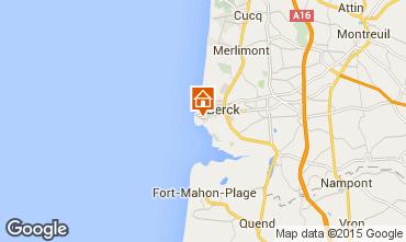 Map Berck-Plage Studio apartment 89125