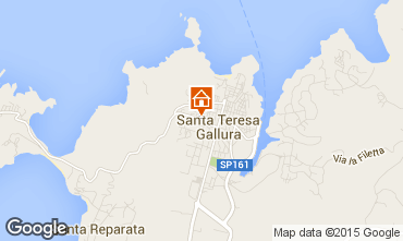 Map Santa Teresa di Gallura Apartment 20966