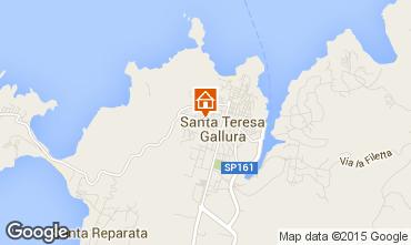 Map Santa Teresa di Gallura Apartment 20966