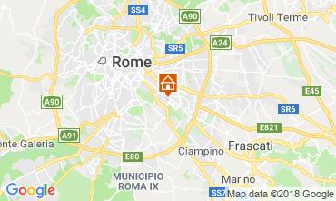 Map Rome B&B 117444