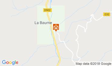 Map Saint Jean d'Aulps- La Grande Terche Chalet 59028