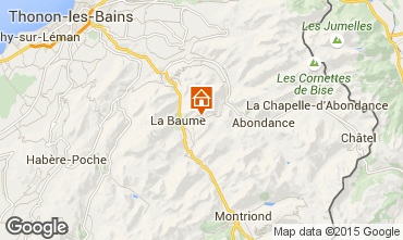 Map Drouzin Le Mont Apartment 14521