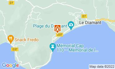 Map Le Diamant Apartment 84306