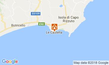 Map Le Castella Apartment 47005