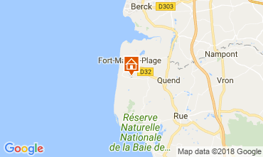 Map Quend Plage Mobile home 114775