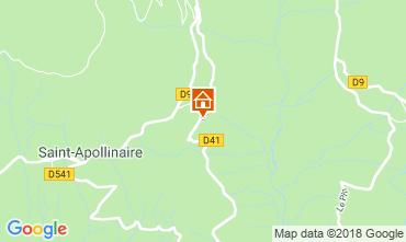 Map Risoul 1850 Apartment 87874