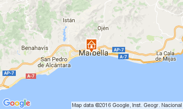 Map Marbella Apartment 84366