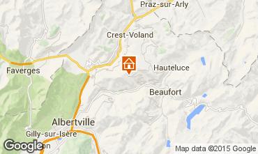 Map Les Saisies Apartment 91862