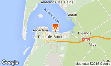 Map Arcachon Mobile home 92901