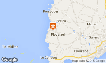 Map Le Conquet Self-catering property 11544