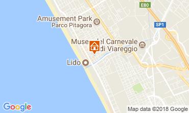 Map Lido di Camaiore Apartment 105133