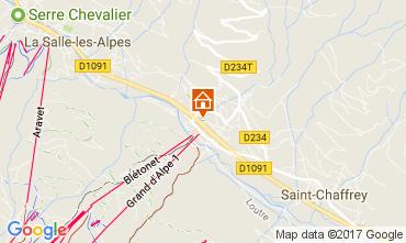 Map Serre Chevalier Apartment 58711