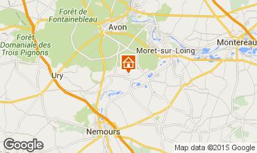Map Fontainebleau Villa 76953