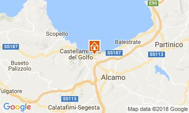 Map Castellammare del Golfo House 97356