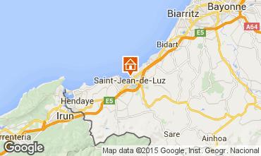 Map Saint Jean de Luz One-room studio flat 9304