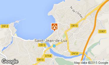 Map Saint Jean de Luz Studio apartment 9304