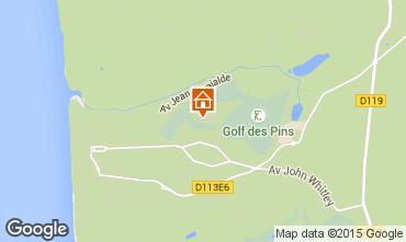 Map Hardelot Villa 85806