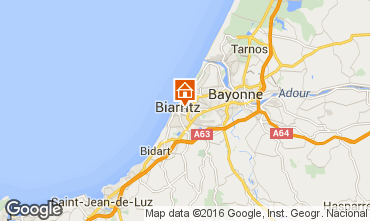 Map Biarritz Flat 6396
