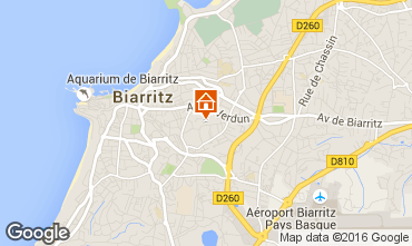 Map Biarritz Apartment 6396