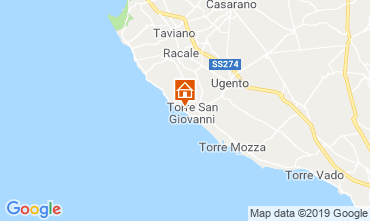 Map Ugento - Torre San Giovanni House 118776