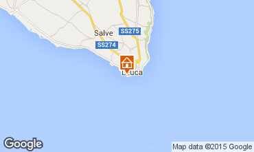Map Santa Maria di Leuca Apartment 79689