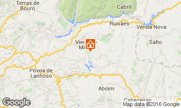 Map Vieira do Minho Self-catering property 38989