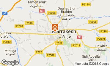 Map Marrakech Apartment 80190
