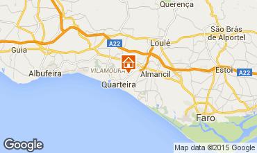 Map Quarteira Villa 56466