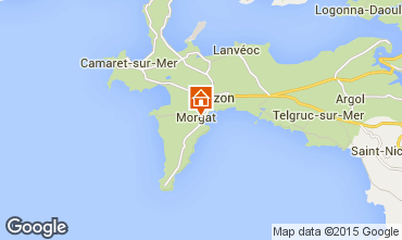 Map Crozon House 9864