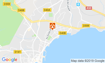 Map La Ciotat Villa 110277