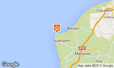 Map Audinghen Villa 85072