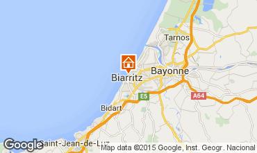 Map Biarritz Flat 6363