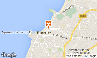 Map Biarritz Apartment 6363