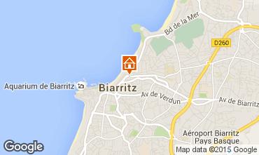 Map Biarritz Apartment 6363