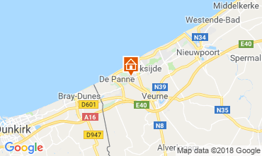 Map Koksijde Villa 116742