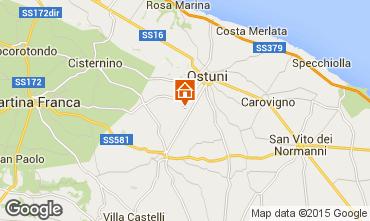 Map Ostuni Offbeat accommodation 92423