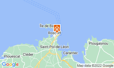 Map Roscoff Apartment 69746