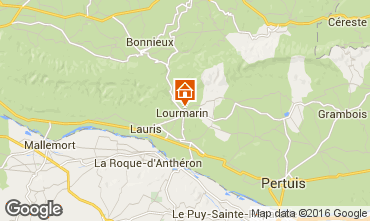Map Lourmarin Villa 102991