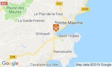 Map Port Grimaud Mobile home 5686