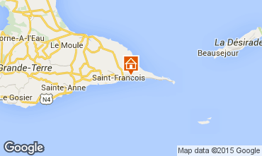 Map Saint Francois Villa 8020