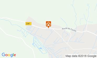 Map Saint-Julien-en-Born Mobile home 116971