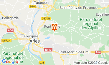 Map Fontvieille Self-catering property 118591