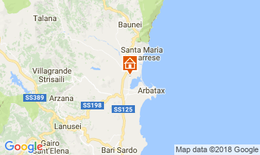 Map Tortolì Apartment 18399