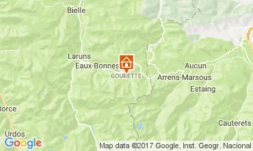 Map Gourette Studio apartment 112189